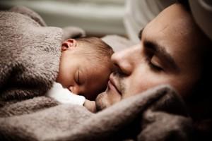 moški, otrok, družina, ljubezen