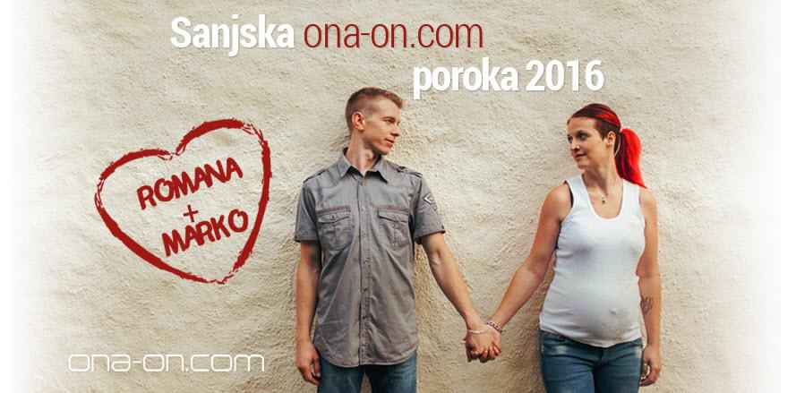 Romana in Marko ~ Spoznala sva se na ona-on.com