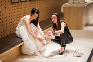 Petra Starbek je organizirala tudi prvo Sanjsko ona-on.com poroko, kjer smo poročili Saro in Žiga. Foto: Ana Gregorič