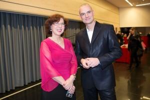 Dr. Sanja Rozman in Luka Kogovšek. Foto: Katja Kodba