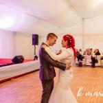 Prvi ples moža in žene. Foto: KMarcella Photography