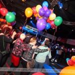 Naš vlakec so popestrili tudi baloni.