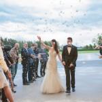 Poročna zabava se je nadaljevala v dvorani Splendens na Brdu.