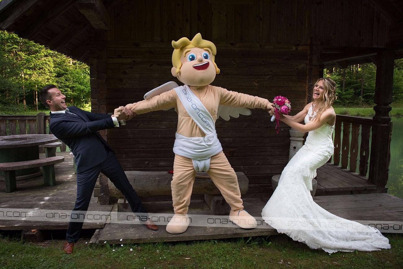 Kupid Ljubo in poroka