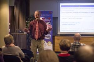 Na valentinovem zadetku v polno je vodja portala Luka Kogovšek razkril recept uspešnosti za iskanje partnerke na ona-on.com.