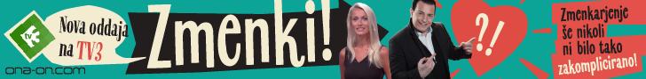 Oddaja Zmenki na TV3