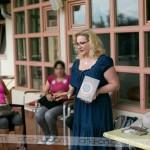 Elena Sofia Seničar nam je predstavila energije in kako se pozitivna in negativna energija kopičita v nas. Foto: Max Verderber