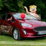 Ljubo je veliko obiskovalcev povabil k Avto zmenkom v Fordu. Foto: Max Verderber