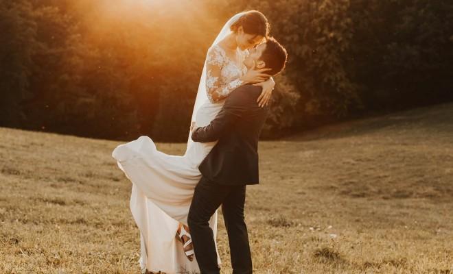 Fotografiranje po poroki Nika in Davor Štatemberg