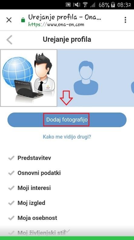 Dodajanje fotografij na ona-on.com_mobile